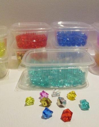 Kristalle (Acryl), 10x14mm